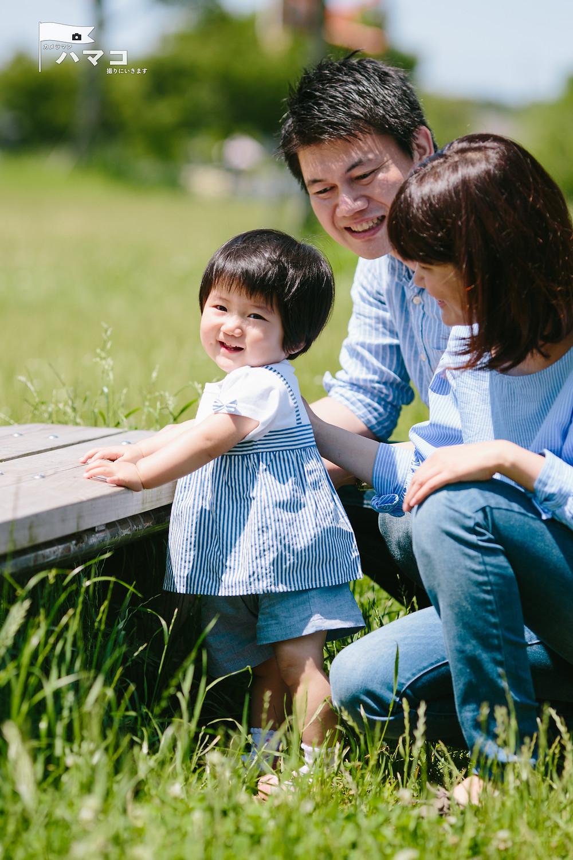 出張撮影 1歳お誕生日 記念 ハマコ