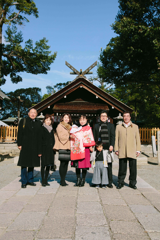 関西 お宮参り 出張撮影 ナチュラル 自然 大阪 京都 奈良 兵庫