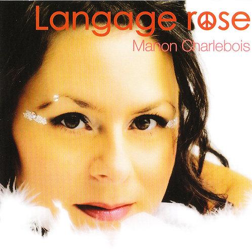 "Album ""Langage rose"" de Manon Charlebois"