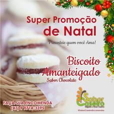 Promoção de Natal - Biscoito Amanteigado