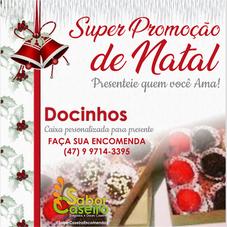 Promoção de Natal - Docinhos