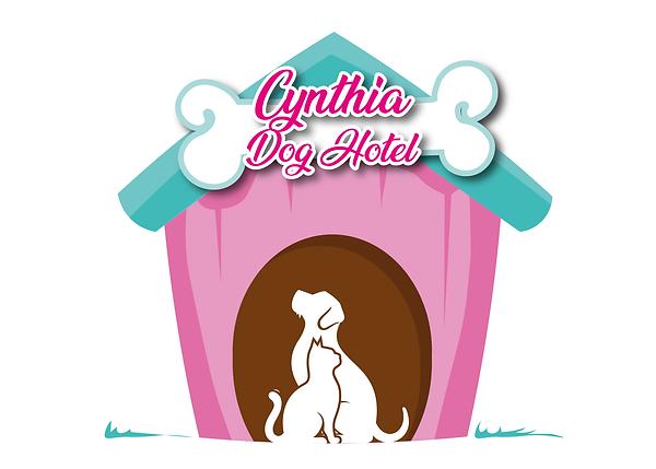 Logo Cynthia Dog Hotel - Fundo Branco.pn