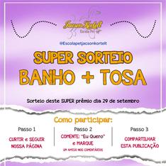 Banner Sorteio