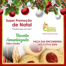 Promoção de Natal - Biscoito sabor Goiaba