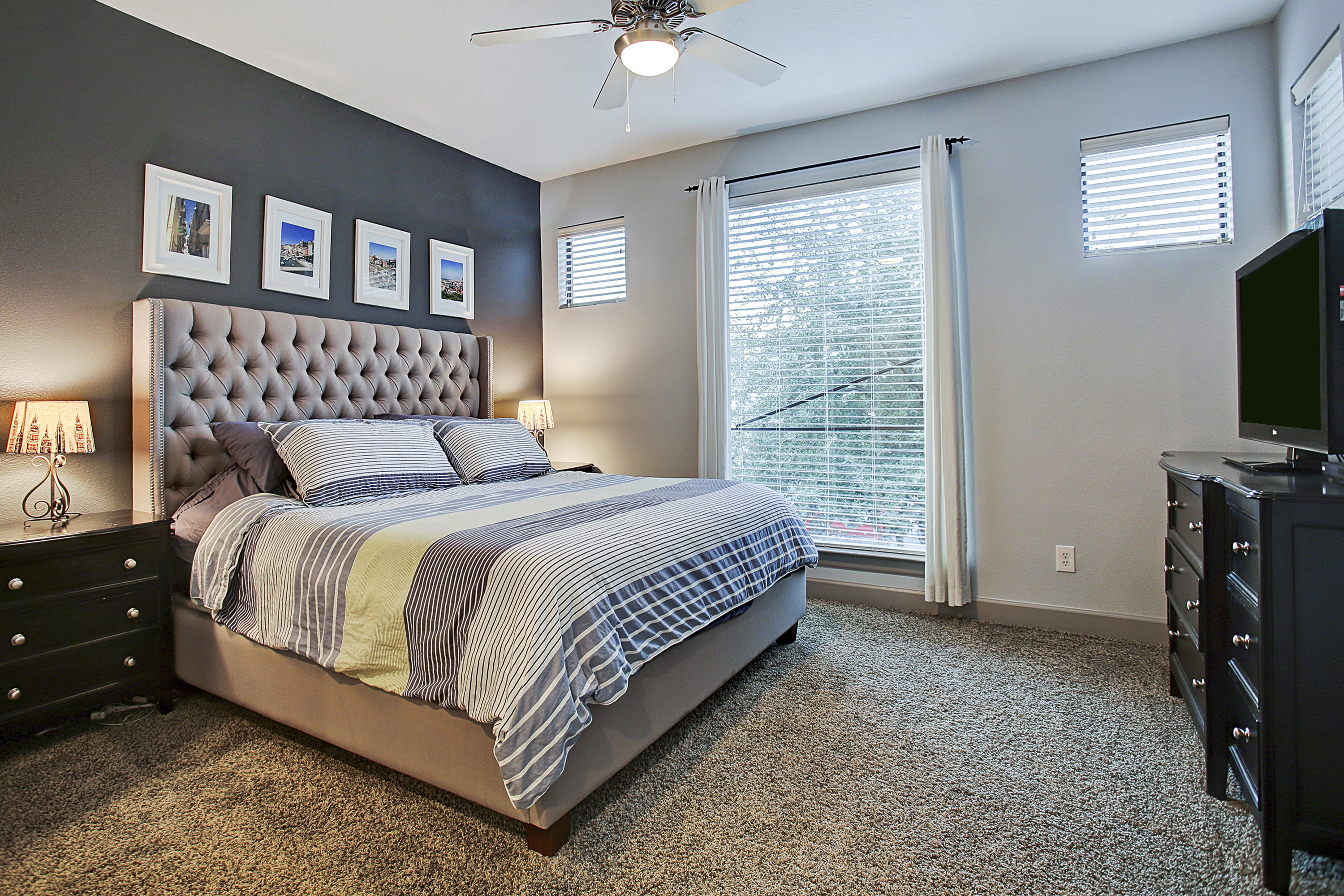 2504 Rusk - Master Bed