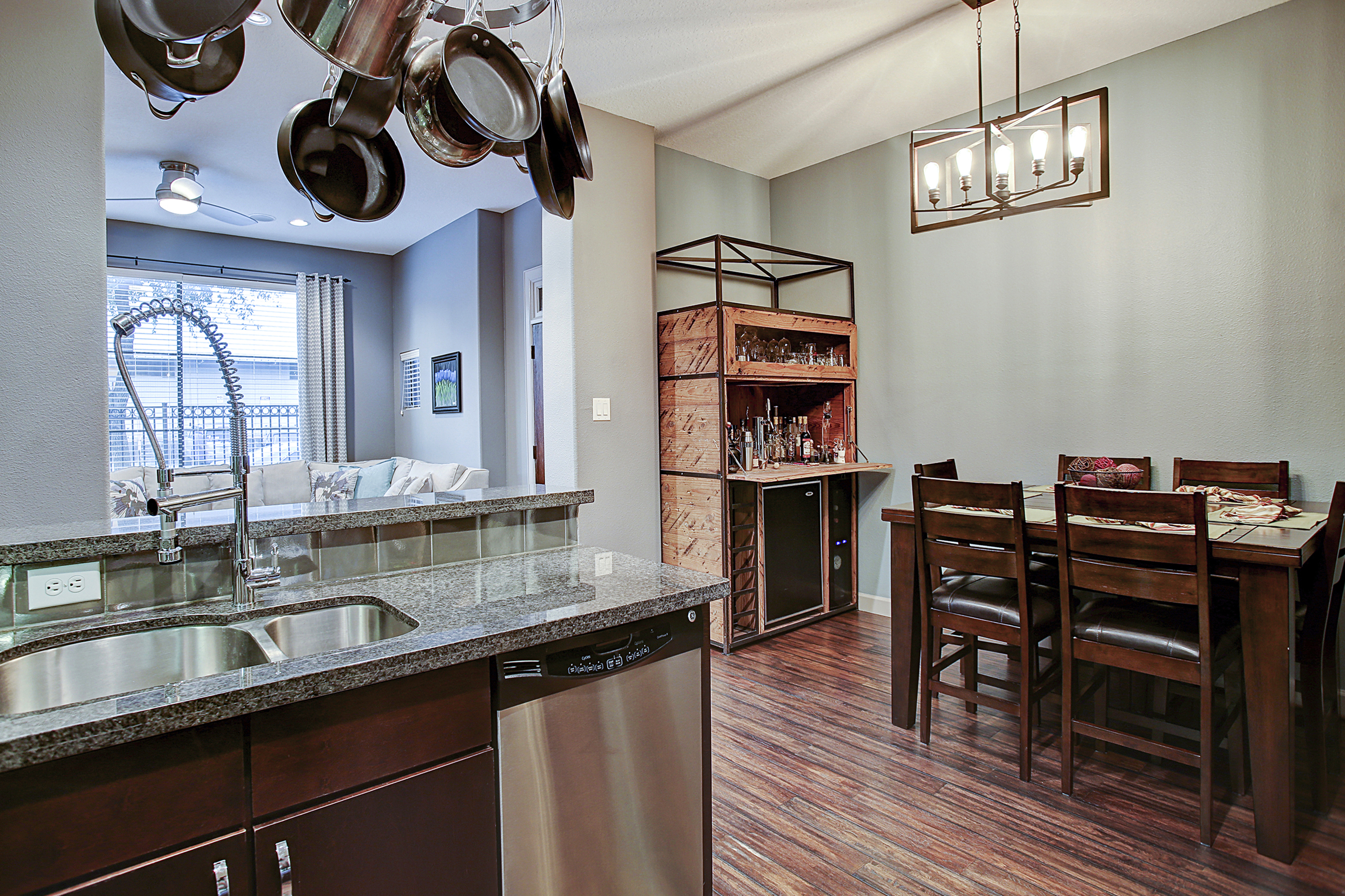 2504 Rusk - Kitchen and Dining