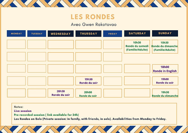 Les Rondes schedule in english.jpg