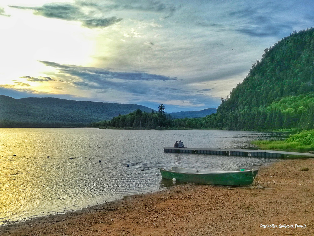 Lac Oxford Mont tremblant Destination Québec en famille