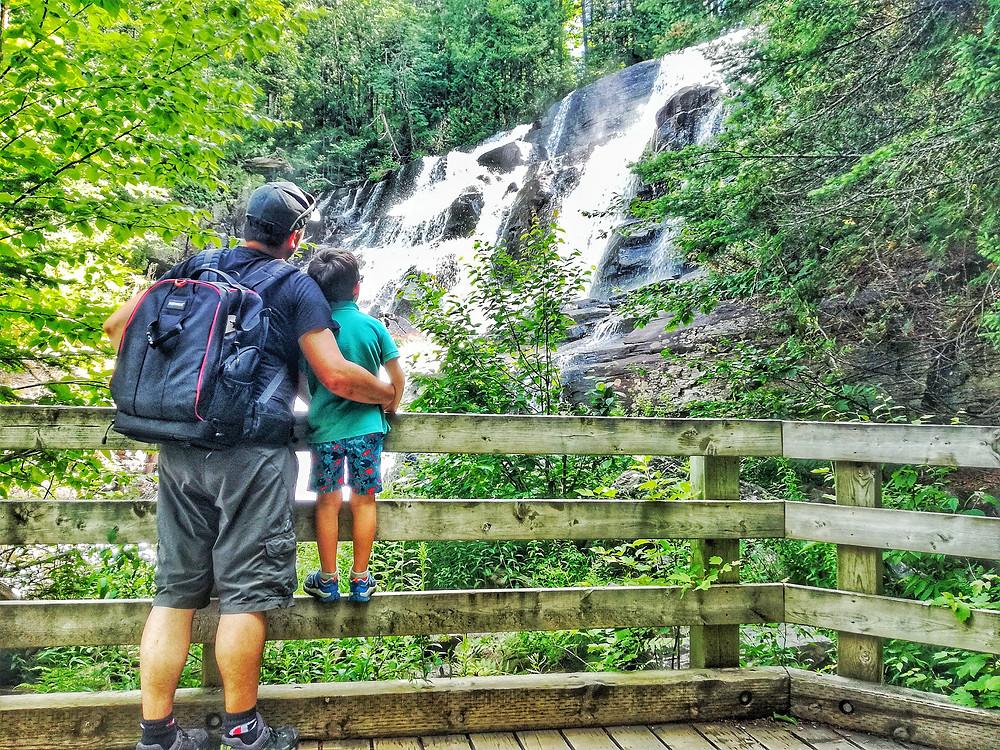 Chutes-aux-Rats Parc Nationale Mont-Tremblant Destination Québec En famille