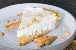 Slice of pie dessert