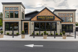 The outside view Heritage Restaurant