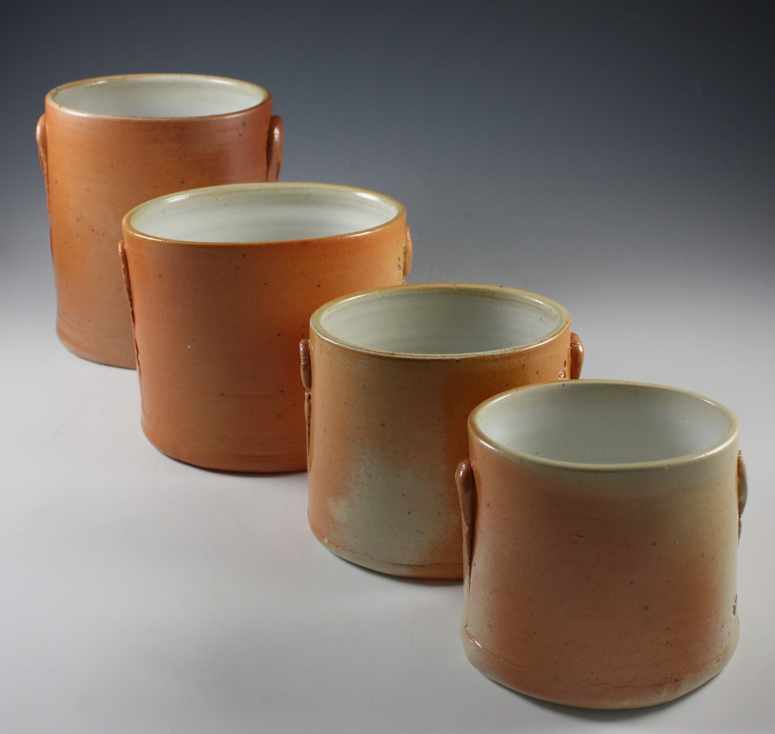 Oval Pot Set with Thumb Lugs