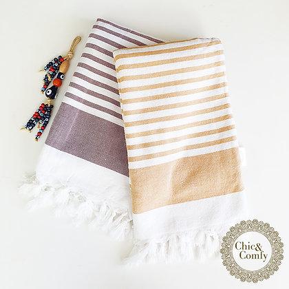 מגבת דגם קלאב