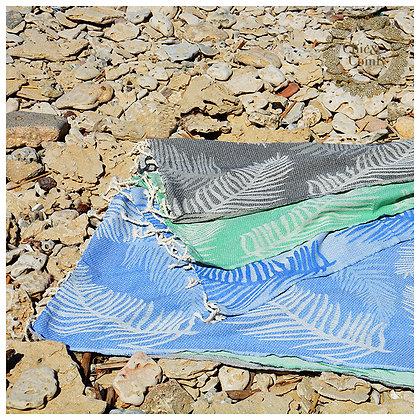 מגבת חמאם דגם עלים