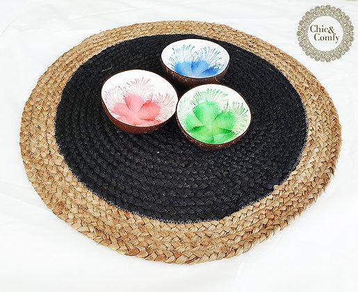 שטיחון/פלייסמנט חבל קוטר 60 ס״מ