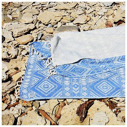 מגבת חמאם דגם אתני