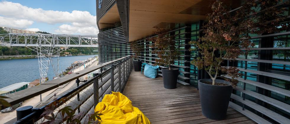 Rokoriko Jungle - salle de reunion a Lyon - terrasse
