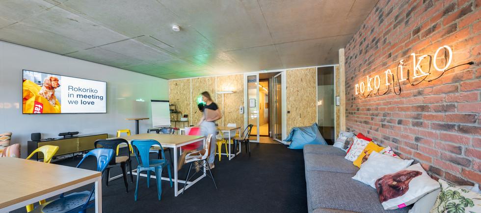 Rokoriko Basic - salle de reunion a Lyon - espace principal