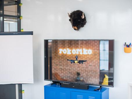 Diffusez sans soucis dans notre salle de réunion Rokoriko Basic 📽️