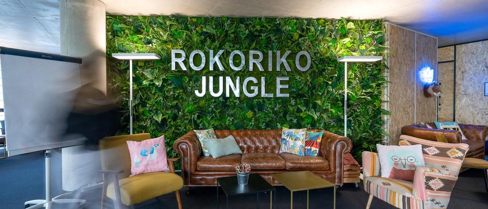 Rokoriko Jungle - salle de reunion a Lyon - espace principal