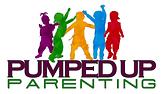 Pumped up Parenting Logo Concept - White