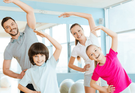 Exercise: Make it Fun, Add Family & Energize Everyone