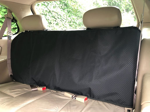"""Extra Long Backseat Protector 24"""" long, 63"""" wide."""