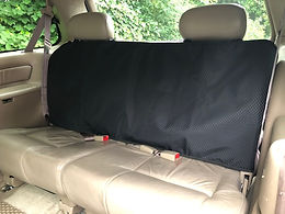 """Double Seat Backrest Protector 24"""" long, 38"""" wide."""