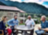 Meeting at the Foothills of the Himalaya