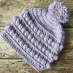 Free Brooke Beanie hat crochet hat pattern by penniesfromdevon