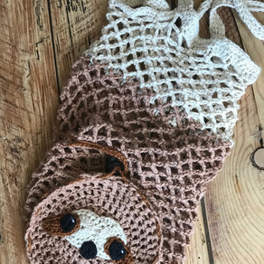 Simon Sloth Market Bag Crochet Pattern