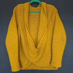 Crochet Slouchy Cardi