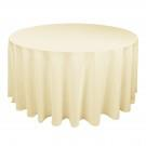 Ivory table cloth