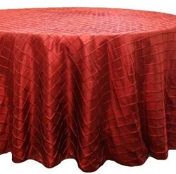 red table cloth