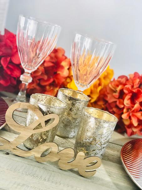 Fall Wedding Tablescape