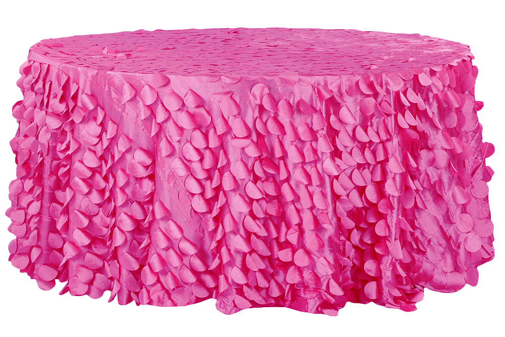 Petal-Circle-Taffeta-Round-Tablecloth-Fuchsia 32