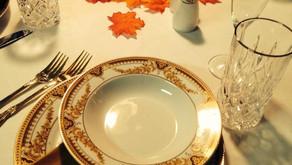 Pre Thanksgiving setting