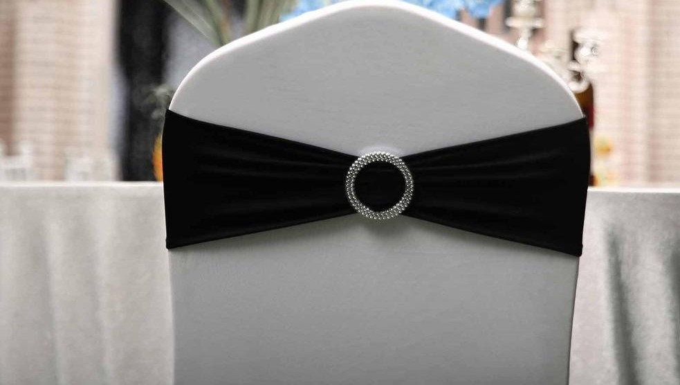 blk sash chair band