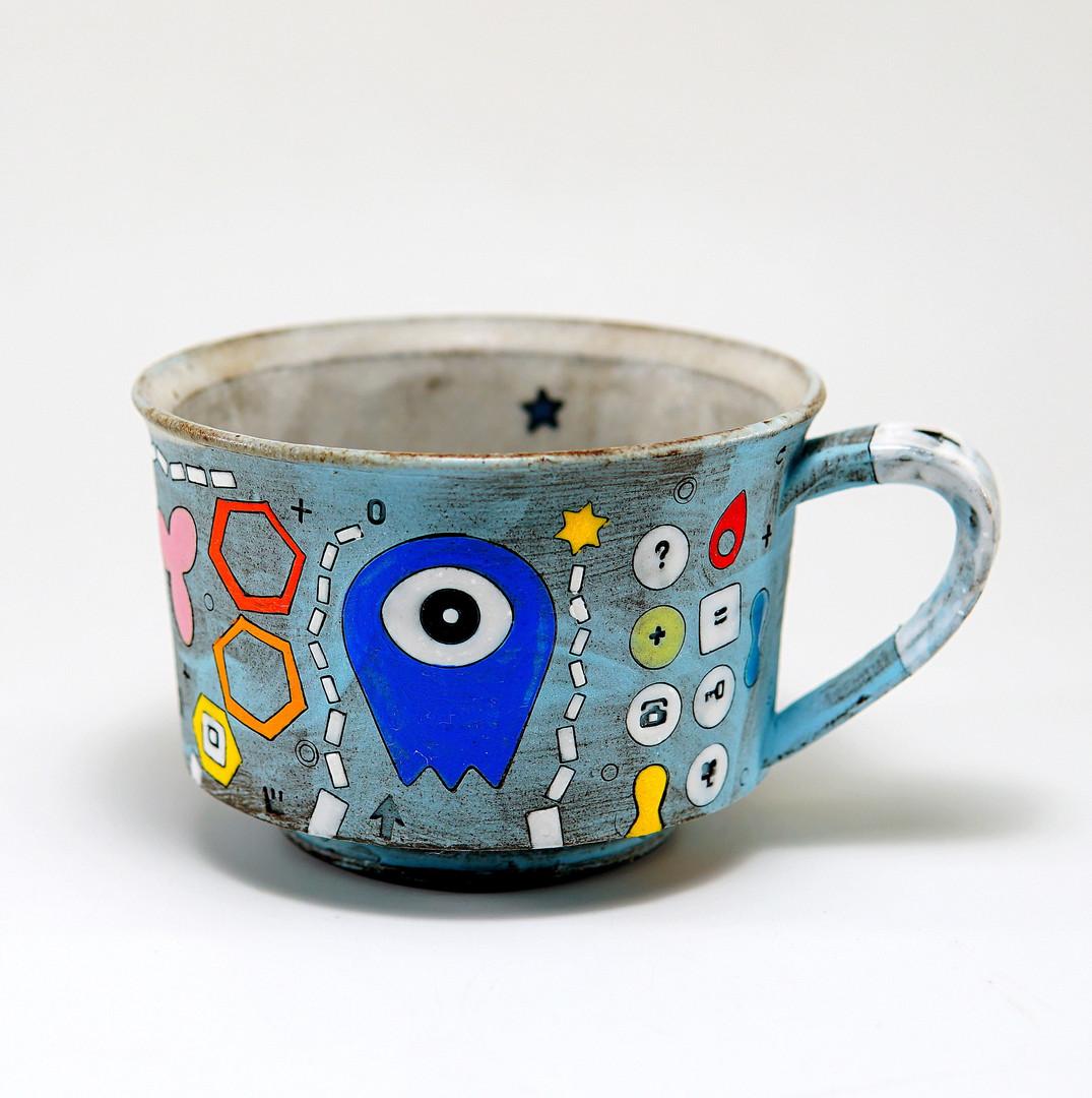 Blue Alien Cup