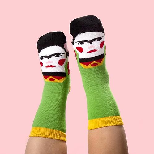 ChattyFeet Jr. Artist Socks (Ages 1-2)