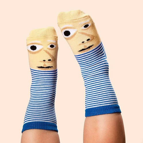 ChattyFeet Jr. Artist Socks (Ages 4-7)