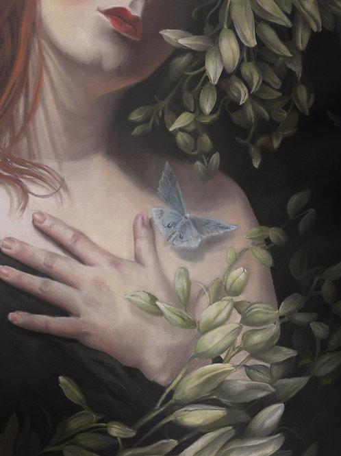 """Overgrowth"" Pastel Painting"