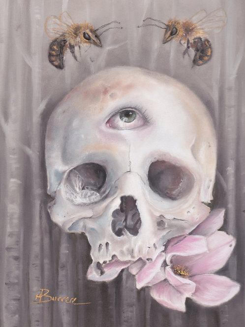 """""""Through the Forest of Bees"""" Open edition print"""