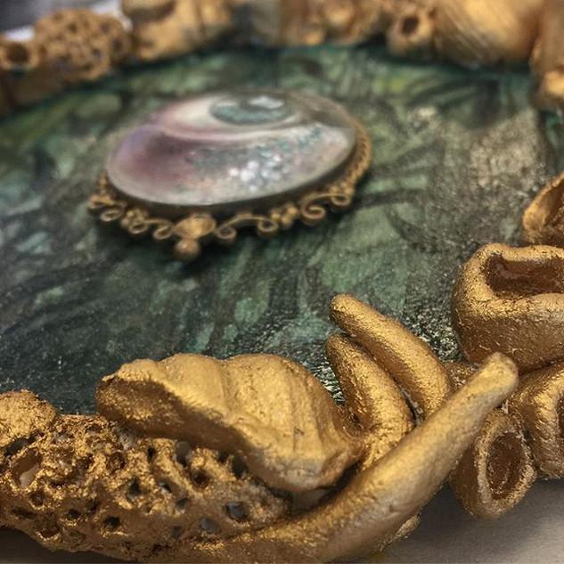 Glazing oils #mermaideye for _labodegaga