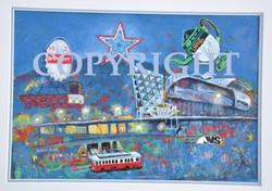 Star City Original Sold, Prints