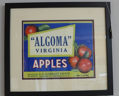 Algoma Apple Box Print