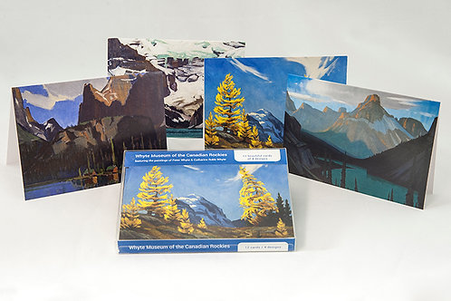 Peter Whyte & Catharine Robb Whyte, Boxed Notecards