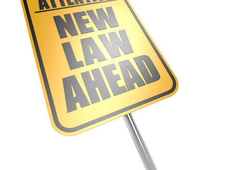 July 1st - New Laws Take Effect