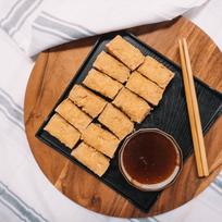 Taiwanese Crispy Fried Tofu w/ Garlic Sauce