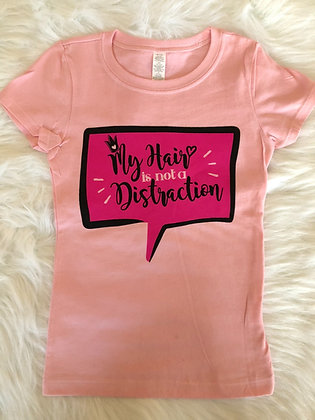 No Distraction Campaign Tee